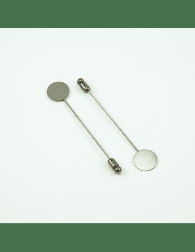 Шляпная булавка gunmetal 15мм (арт. ШБ5)