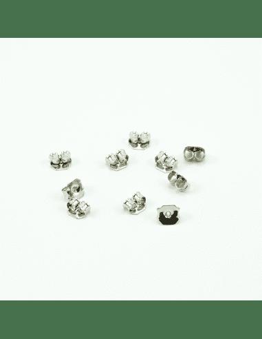 Заглушки на швензы родий 6мм (арт. ЗШ1)