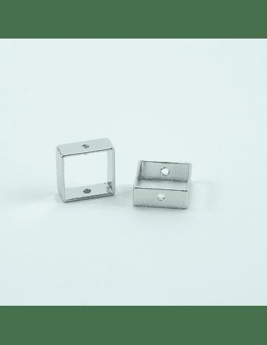 Коннектор родий 10мм (арт. КН3)