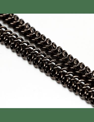 Цепь gunmetal 5мм (арт. ЦП138)