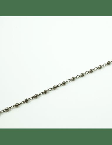 Цепь gunmetal 2мм (арт. ЦП40)