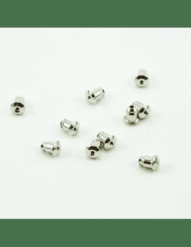 Заглушки на швензы родий 6мм (арт. ЗШ3)