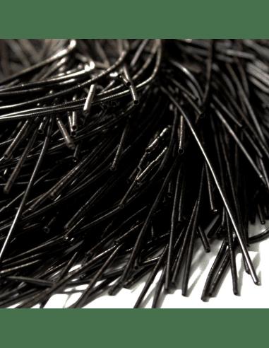 Канитель гладкая черная 1мм (арт....