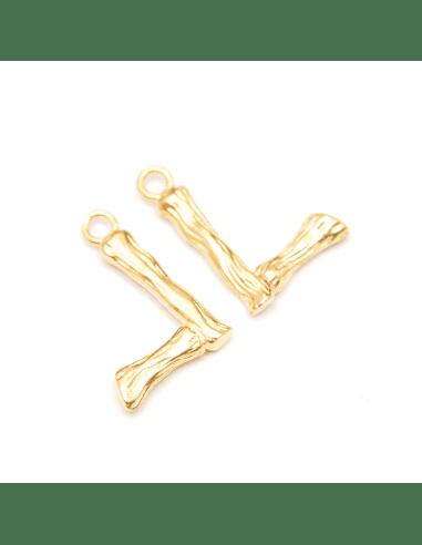 Подвеска золото 12мм (арт. ПД244)