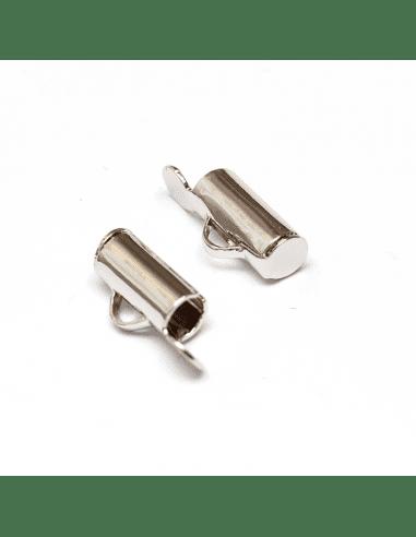 Концевик слайдер родий 9мм (арт. КЦ48)