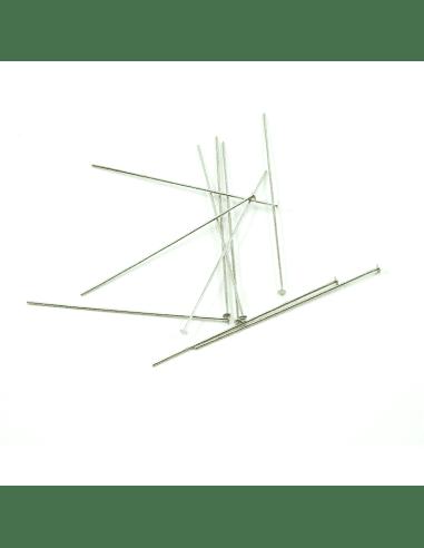 Пины с площадкой родий 60мм (арт. ПИН6)