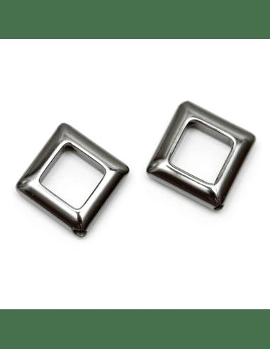 Бусина гематит никель 8мм (арт. ГМ24)